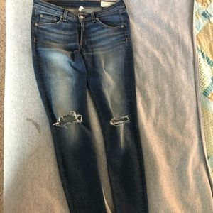 Rag & Bone skinny jeans. Like new condition!